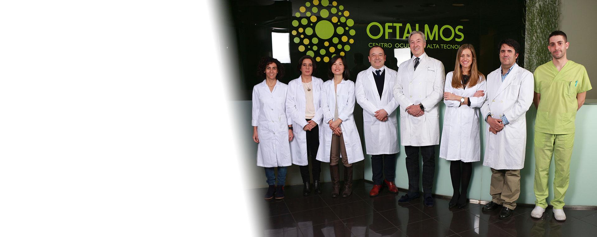 Imagen principal home equipo Oftalmos